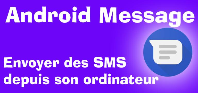 Envoyer des SMS depuis son ordinateur