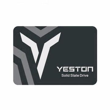 Yeston SSD Disque dur interne haute vitesse à disque SSD SATA3 6Gbps haute vitesse 60/120/240 / 500GB