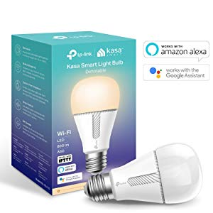 TP-Link KL110 Kasa Smart Ampoule sans Fil E27 10 W Compatible avec Amazon Alexa (Echo et Echo Dot), Google Home et IFTTT à intensité Variable Blanc Chaud