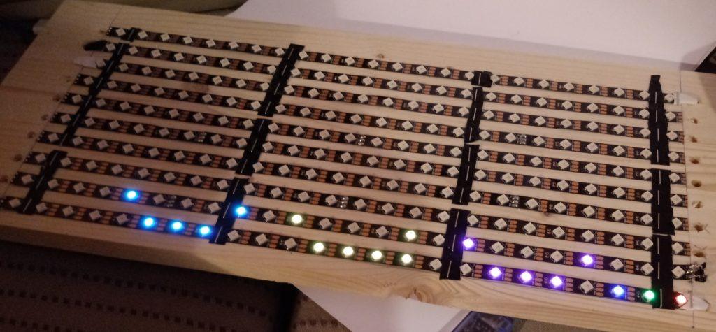 panneau led test arduino