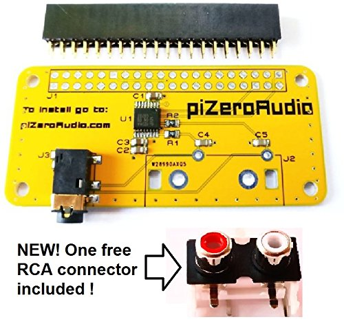 Audio DAC Hat Sound Card (Audio+) for Raspberry Pi Zero / PI3 / PI3B / PI3B+ / A+ / B+ / Pi 2 B/Better Quality Than USB