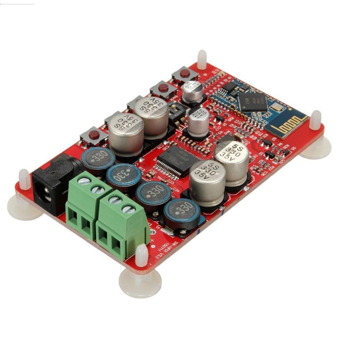Conseil Amplificateur sans fil - SODIAL (R)Recepteur TDA7492P 50W + 50W sans fil Bluetooth Amplificateur audio Conseil Module Partie