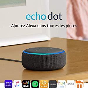 BON PLAN – Enceinte connectée gamme Amazon Echo Alexa