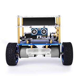 ELEGOO Kit de Voiture Robot Auto-équilibrée Tumblr Compatible avec Les Kits Arduino, STEM Jouets STEM pour Enfants