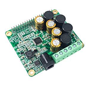 Inno-maker Raspberry Pi HiFi Amp Module, 25W Classe D amplificateur de Puissance Tas5713Carte d'extension Module Audio pour Raspberry Pi 3B + Pi Zero Nichicon Condensateur