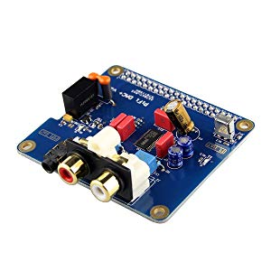 Kuman PIFI Digi DAC+ HiFi DAC Audio Sound Card Module I2S Interface for Raspberry pi 3 2 Model B B+ Digital Audio Card Pinboard V2.0 Board SC08