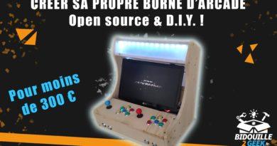 creer sa borne arcade bartop